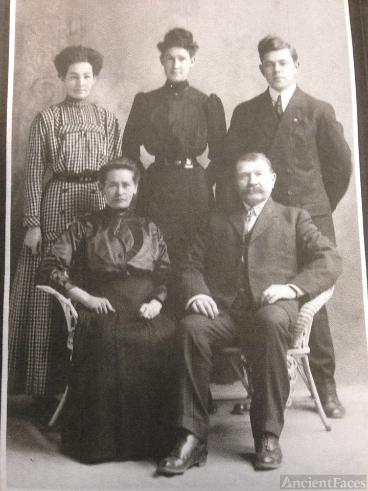 Jens Christian Smith family