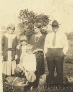 Great-Uncle Jim Moore's Family