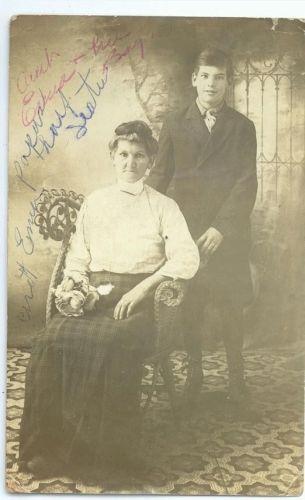 Emma Winslow & son