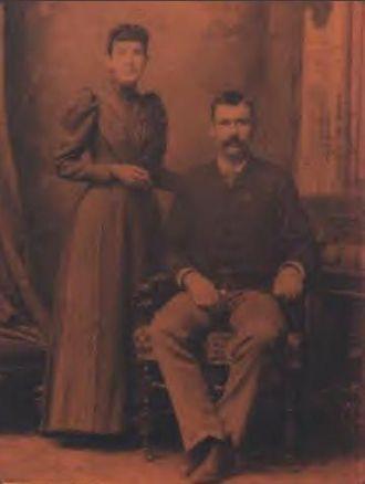 George & Flora Belle Allen