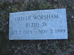 Oliver W Jr Rudd