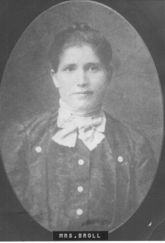 Katherine (Bifot) Broll, 1903
