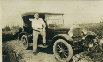 Erton with Car