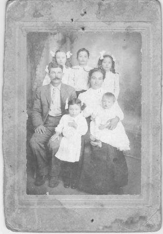 Wilford and Hazel Hampton family