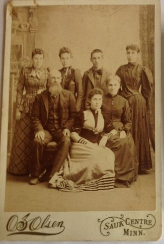 William Seburn Richards Family circa 1880's