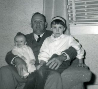 Walter E Watson Sr and children