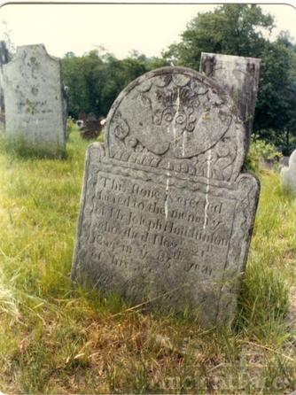 Joseph Hutchinson gravestone