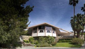 Elvis Presley honeymoon house, Palm Springs, California