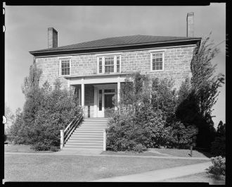 Lumpkin-Hall stone house, University of Georgia, Athens,...