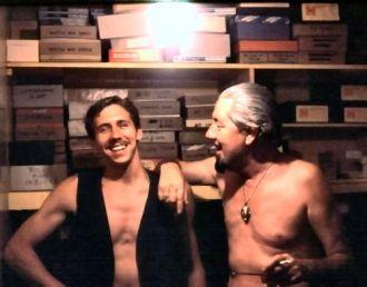 Ivan T. Sanderson and Richard Grybos