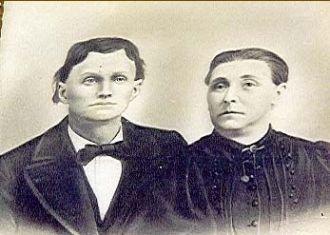 Abraham Sr & Ann (Ashman) Carling, Utah
