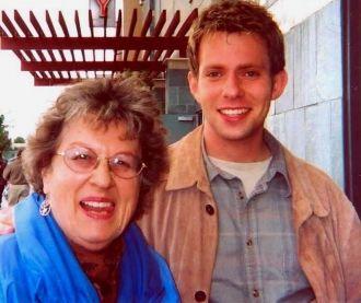 Joyce Benning Vandever & Grandson