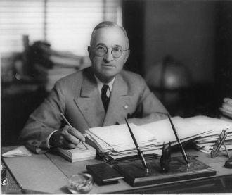 President Harry Truman 1945