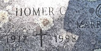 Homer C. Beck gravesite