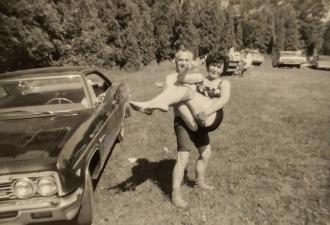 Margaret and Ernie Stawnychka (Hercules), 1968