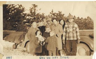 The Day We Left Iowa 1947