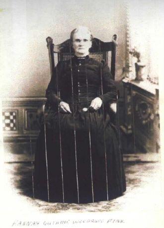 Hannah (Guthrie) Fink, Ohio 1895