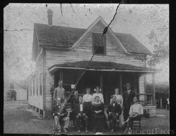 Mary Jane Swain Alexander & Family