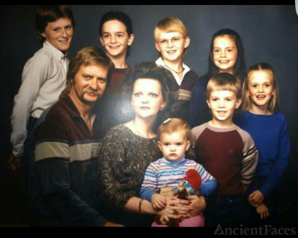 Cole Family 1982