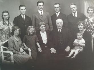 Sundvor family,1931 Norway