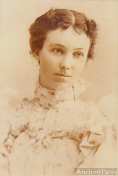 Geneva Jane German Carter, circa 1897