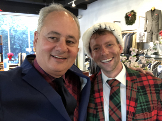 Jim Thomas & Daniel J Pinna Christmas 2019