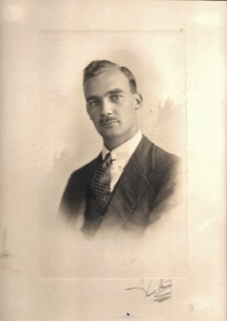 My father HAH Mould in 1925