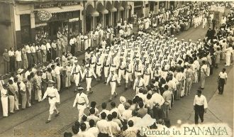 Victory over Japan - Parade in Panama City
