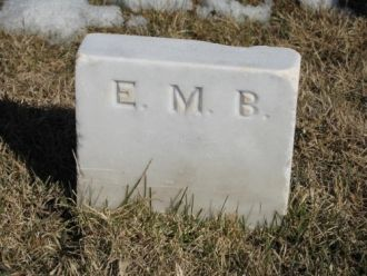 Marker for Elizabeth Marshall Baird