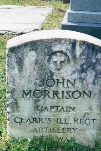 John Morrison Headstone; Revolutionary War Soldier