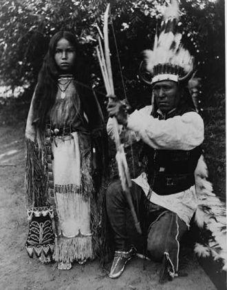 Kiowa Elk Tongue circa 1891