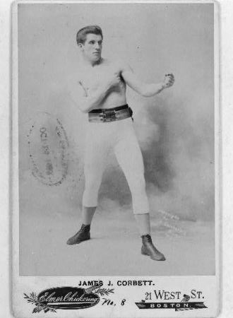 James J. Corbett / Elmer Chickering, Boston.