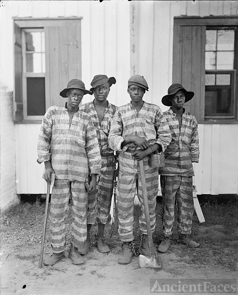 A Southern chain gang