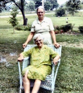 Osa (Westfall) Corbett & Nina Westfall, Ohio