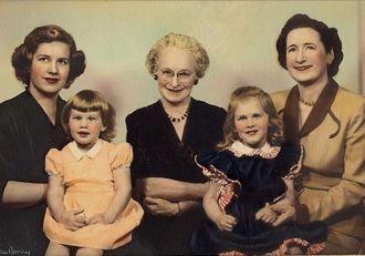 Mary Ann Tasker, Connie D'Albert, Joyce Kroetch