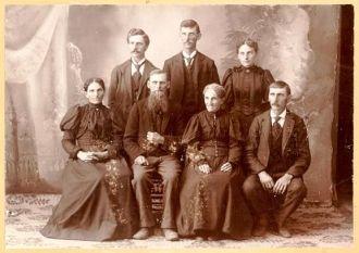 Hans Waller Family, 1800's