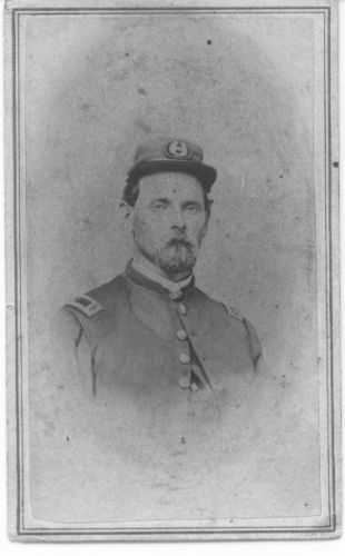 Jasper Sprague Snow, Civil War photo