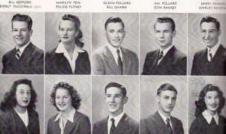 Bill Bedford - 1945 San Mateo High School