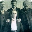James, Lafayette, Francis & John Foster, 1900