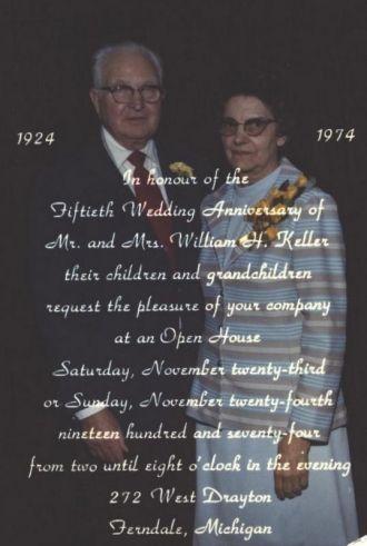 William & Florence Keller, Michigan
