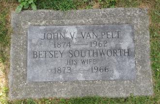 John Vredenburgh Van Pelt Gravesite