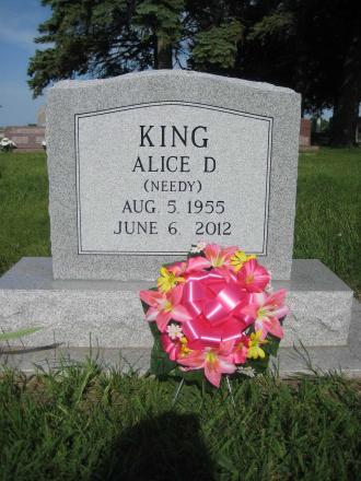 Alice Diane (Needy) King Gravesite