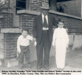 John Sositko with grandsons