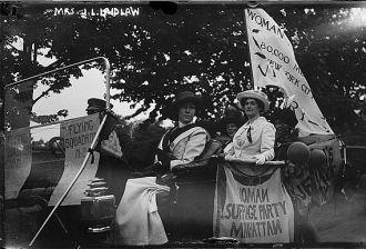 Mrs. J.L. Laidlaw - suffragette