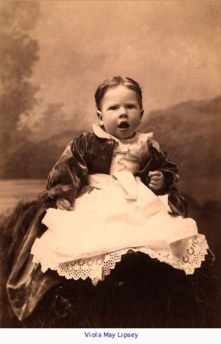 Viola May (Lipsey) Page, 1892