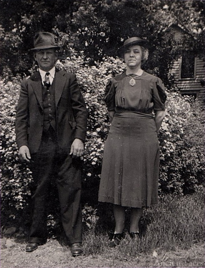 Theodore & Fanny Roos