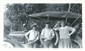 Elmer, John & Effie Warn