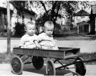 John and William Macdonald  1925