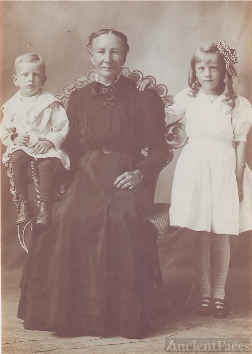 Ella Schubert Schmidt & family