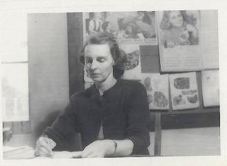 Logan County, Kentucky Teacher Geneva Orndorff Barker 1908-2004